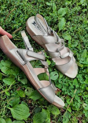 39-40 р. mephisto. кожаные сандали. кожаные босоножки.