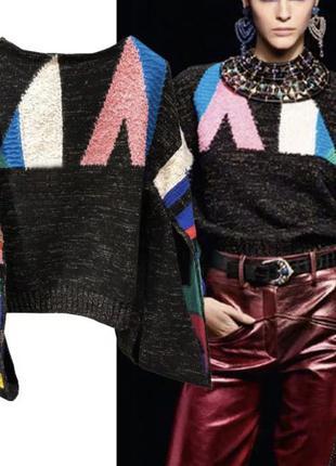Стильный дизайнерский свитер пуловер