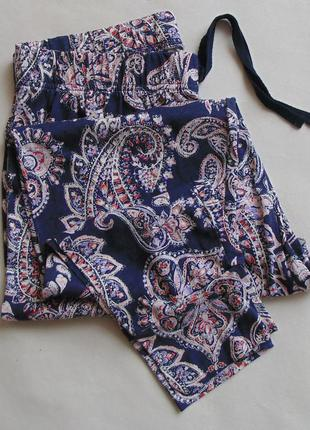 Тонкие домашние пижамные штаны primark с 10-12, м
