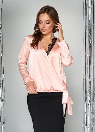 Распродажа изысканная блуза 4 цвета, р. s - 3xl