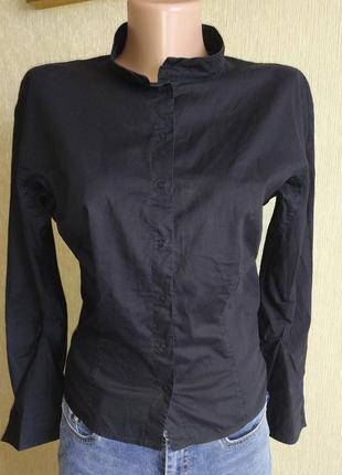 Фирменная рубашка блуза на кнопках, хлопок, р. 36