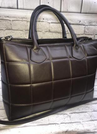 👜итальянская кожаная сумка