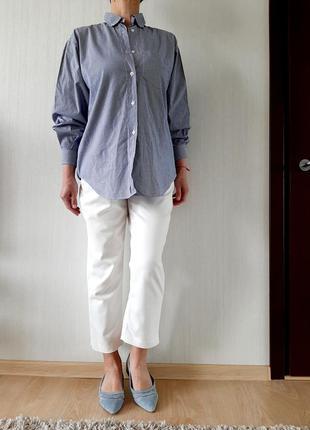 Рубашка benetton италия р 46(it)