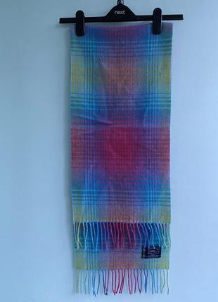 Шарф шерстяной highland tartan tweeds scotland шотландия