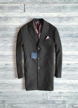 Мужское итальянское пальто giovanni scarano