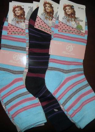 Женские носки р 38-42(3 пары)