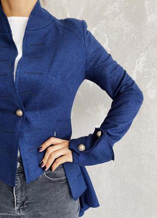 Дизайнерское пальто- пиджак