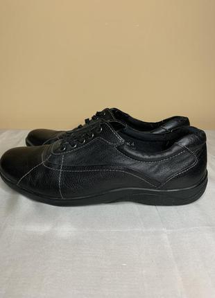 Женские кожаные туфли на шнурках, мокасины footglove
