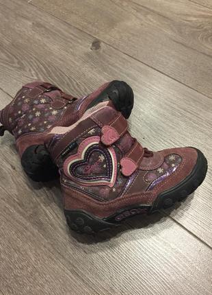 Зиvние ботинки geox