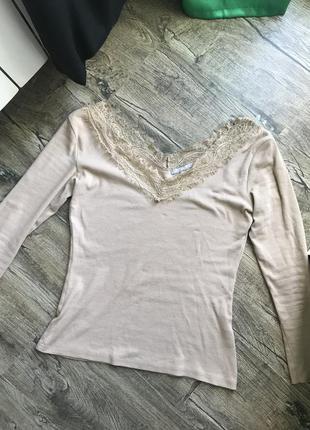 Кофта кофточка рубчик водолазка виріз вырез декольте светр светрик блуза блузка