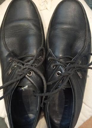 Кожаные туфли стелька 23,5-24см