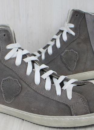 Новые кеды the spark замша италия 44р ботинки
