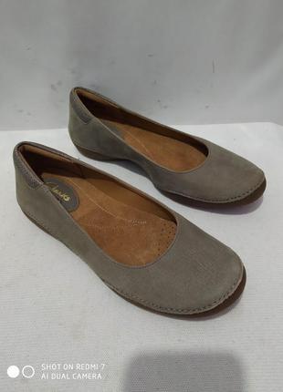 Кожаные туфли clarks artisan