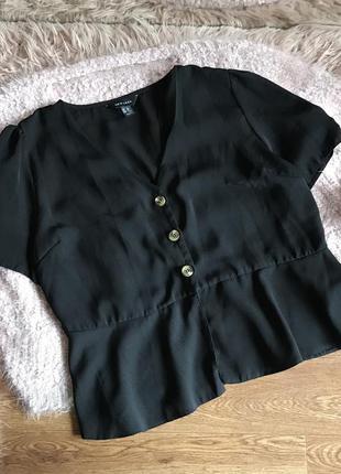 Блуза с пуговицами (l)12р