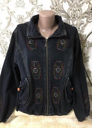 Шикарная джинсовая куртка испания