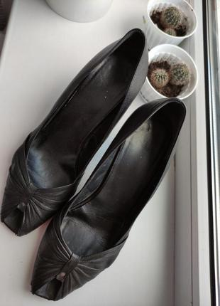 Туфли кожа в офис, австрия