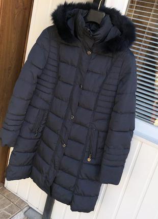 Новое пальто италия made in italy пуховик