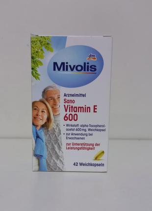 Mivolis витамины биологически активные добавки  витамин е