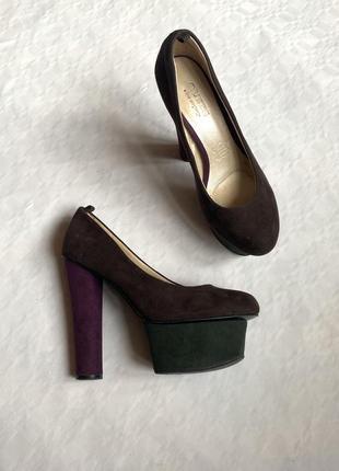 Туфли на каблуке ортопедические стельки