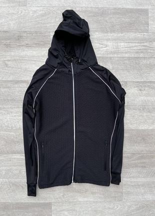 Workout женская кофта с капюшоном фирменная