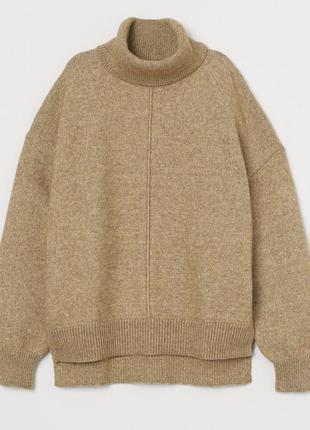 Классный свитер, джемпер, h&m, в составе шерсть!
