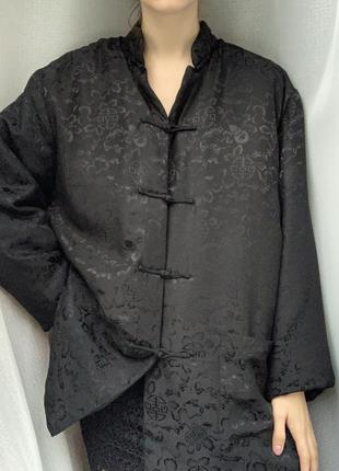 100% шёлк шелковый бомбер оверсайз шёлковая куртка