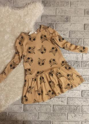 Ніжна сукня з котиками