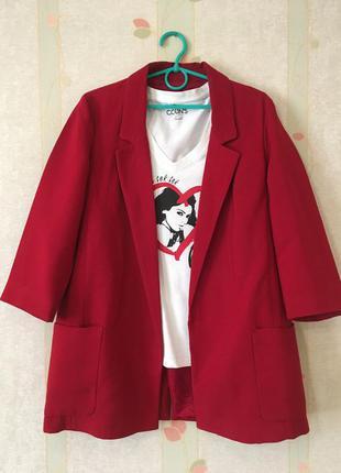 Педжак красный