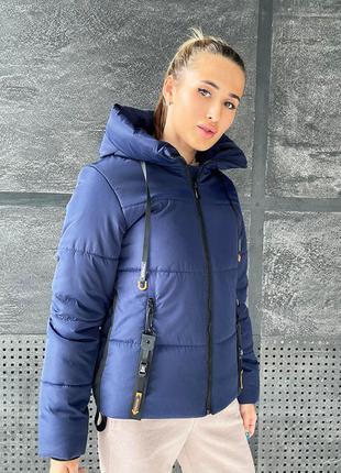 Зима 2021/2022 куртка  женская зимняя укороченная
