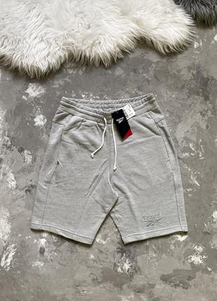 Оригинал! мужские спортивные шорты reebok te melange short новые