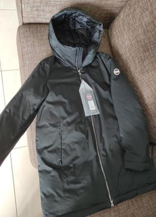 Новая парка на пуху colmar италия непромокаемая непродуваемая куртка пуховик оригинал