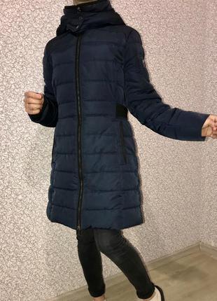 Пуховик стеганое пальто куртка пуховик esprit пуховик с имитацией пояса теплый пуховик куртка зимняя