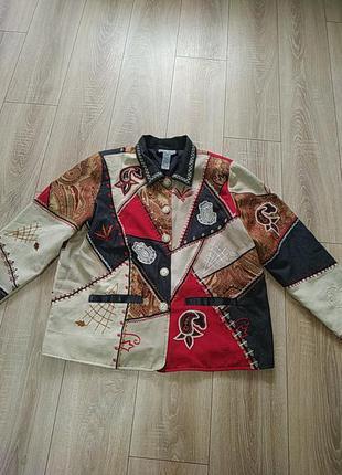 Легкая курточка-жакет