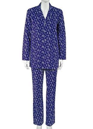 Фланелевая пижама 44 размер