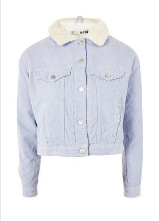 Куртка женская topshop голубая