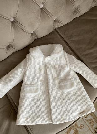 Пальто для дівчинка майорал