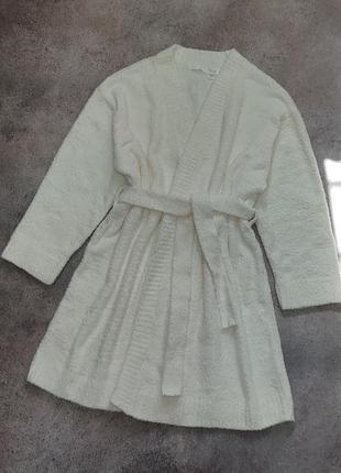Новый пушистый халат