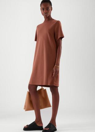 Cos платье  - футболка из органического хлопка