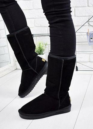 """Уггі високі чоботи зимові стилі """"ugg"""""""