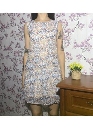 Красивое платье под шифон 10 38 м eur46