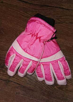 Перчатки варежки теплые лыжные