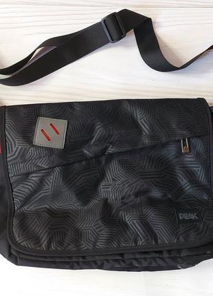 Спортивная сумка-мессенджер peak.30×40×10