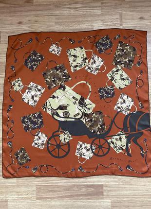 Шелковый платок от hermes