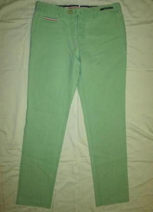 Pantaloni torino pt01 мужские штаны чиносы брюки италия jacob cohen incotex