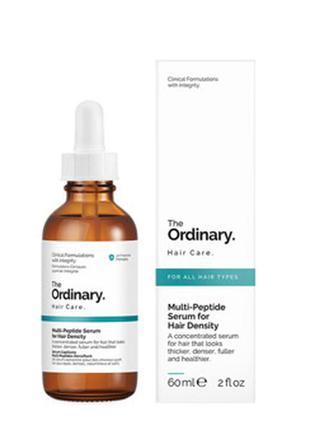 Пептидная сыворотка, увеличивающая густоту волос the ordinary multi peptide serum for hair density