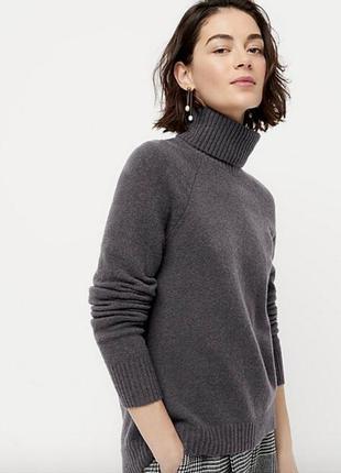 Широкий шерстяной свитер (мерин, альпака, полиамид, эластан)