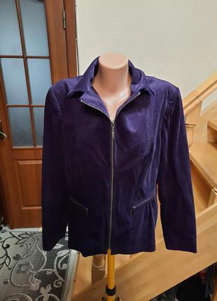 Куртка вельветова на підкладці
