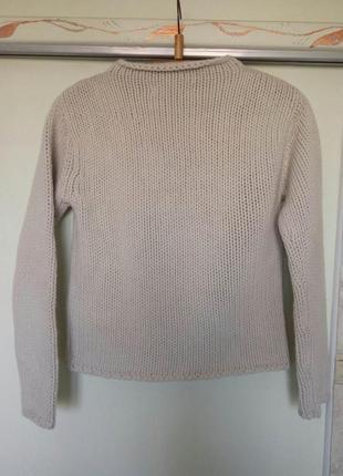 Теплыый толстыый свитер шерсть