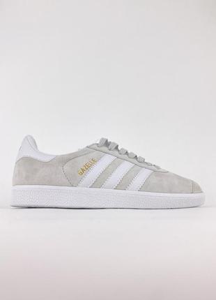 Adidas gazelle light grey наложенный платеж