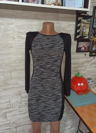 Шикарное платье в идеале, меланж!!!